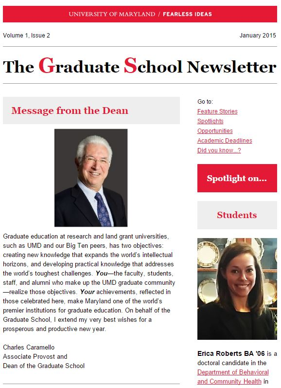 GS Newsletter Jan 2015