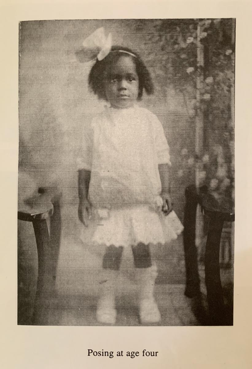 Dr. Rebecca Carroll as a child